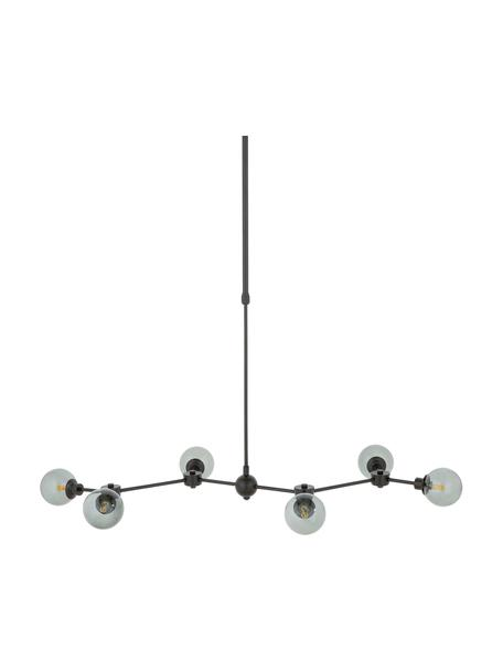 Lampa wisząca Aurelia, Czarny, szary, S 110 x W 68 cm