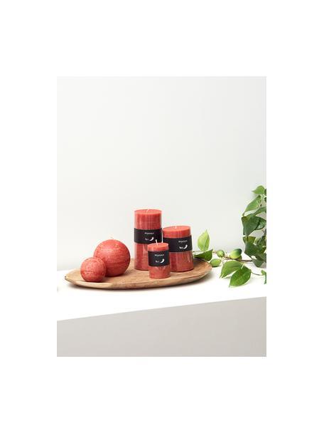 Świeca pieńkowa Arda, 80% parafina, 20% wosk palmowy, Terakota, Ø 10 x W 20 cm