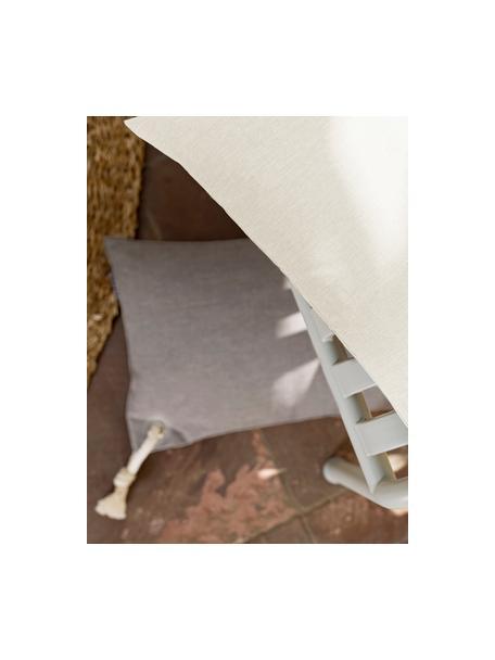 Poszewka na poduszkę zewnętrzną Capri, 100% polipropylen, Beżowy, S 40 x D 40 cm