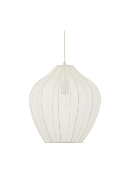 Lampa wisząca z siatki Beau, Odcienie kremowego, Ø 40 x W 40 cm
