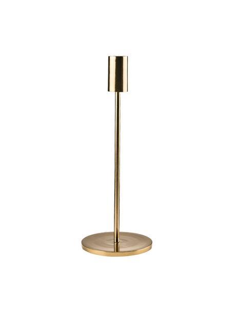 Candelabro Highlight, Alluminio, rivestito, Ottonato, Ø 11 x Alt. 29 cm