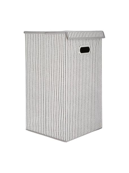 Wasmand Stripes, Beige, crèmekleurig, 32 x 57 cm