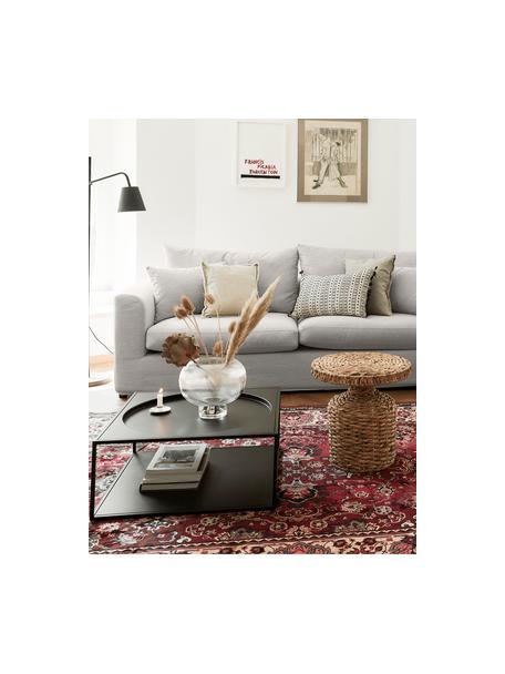 Sofa Zach (3-Sitzer) in Taupe, Bezug: Polypropylen Der hochwert, Webstoff Taupe, B 231 x T 90 cm