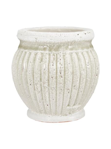 Macetero pequeño de cerámica Catinia, Cerámica, Marrón, Ø 14 x Al 14