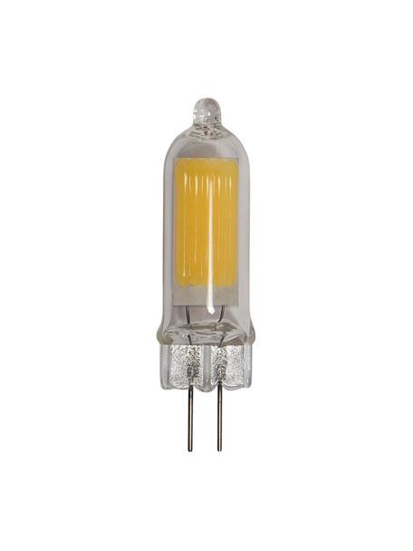 Bombillas G4, 1.8W, blanco cálido, 5uds., Ampolla: vidrio, Casquillo: aluminio, Transparente, Ø 1 x Al 5 cm