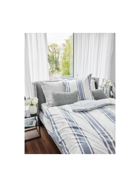 Dzianinowa poszewka na poduszkę z bawełny organicznej  Adalyn, 100% bawełna organiczna, certyfikat GOTS, Szałwiowy zielony, S 30 x D 50 cm