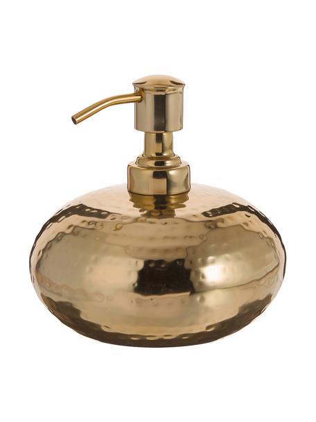 Dozownik do mydła Anetta, Stal nierdzewna, powlekana, Odcienie mosiądzu, Ø 13 x W 13 cm
