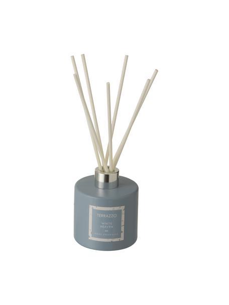 Diffuser Terrazzo, Houder: glas, Blauw, crèmekleurig, Ø 9 x H 24 cm
