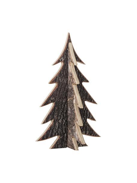 Albero decorativo Ro, alt. 35 cm, Legno, Marrone, Ø 22 x Alt. 35 cm