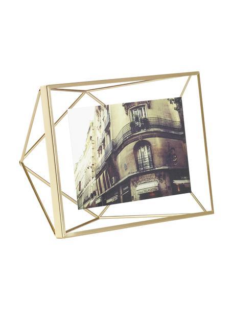 Fotolijstje Prisma, Frame: Staal, Messingkleurig, 10 x 15 cm