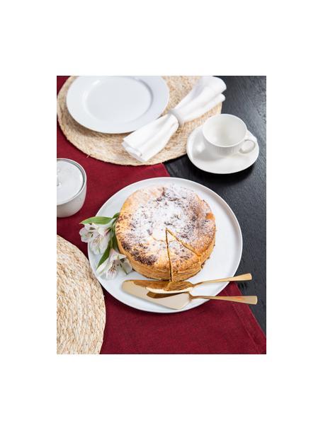 Posate da torta in acciaio inossidabile Matera 2 pz, Acciaio inossidabile, Dorato, Set in varie misure