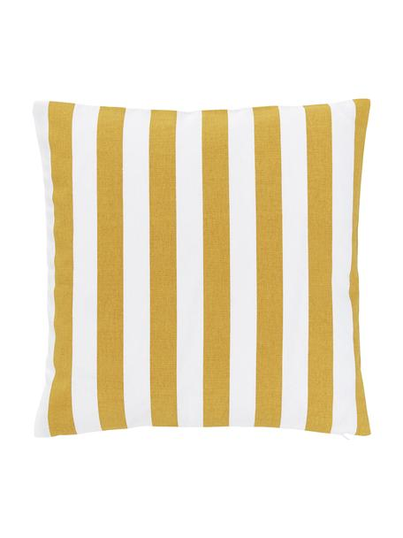 Funda de cojín Timon, 100%algodón, Amarillo, blanco, An 45 x L 45 cm
