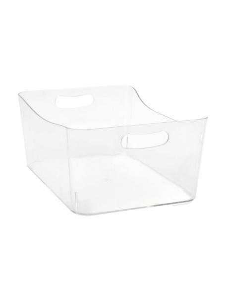 Aufbewahrungsbox Laga, Kunststoff, Transparent, 34 x 15 cm