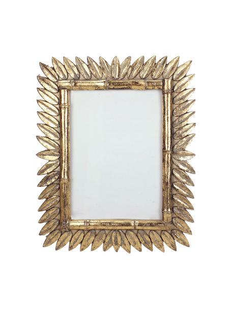 Fotolijstje Sun in antieke optiek, Lijst: polyresin, Messingkleurig, 13 x 18 cm