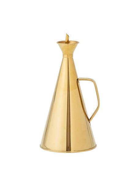 Dispenser olio e aceto dorato Bask, Acciaio inossidabile rivestito, Ottonato, Ø 13 x Alt. 28 cm
