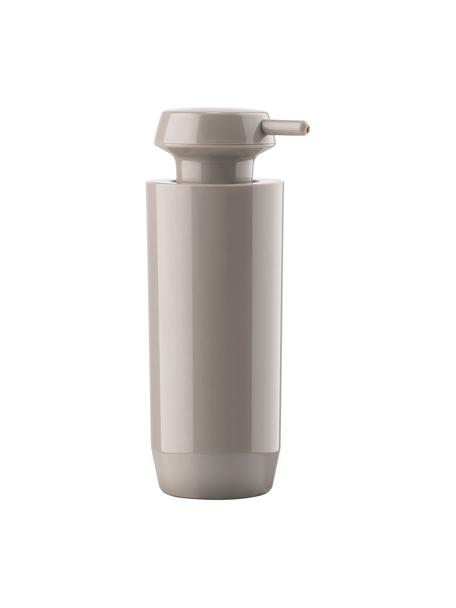 Dosificador de jabón Suii, Acrílico, Gris pardo, Ø 6 x Al 18 cm