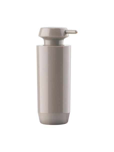 Dozownik do mydła Suii, Akryl, Taupe, Ø 6 x W 18 cm