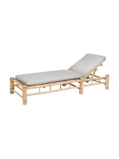 Leżak ogrodowy Bamboo, Drewno bambusowe, naturalne, D 210 x S 80 cm
