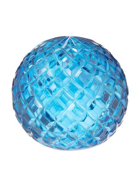 Dekoracja ze szkła Blue, Szkło, Niebieski, Ø 7 x W 9 cm