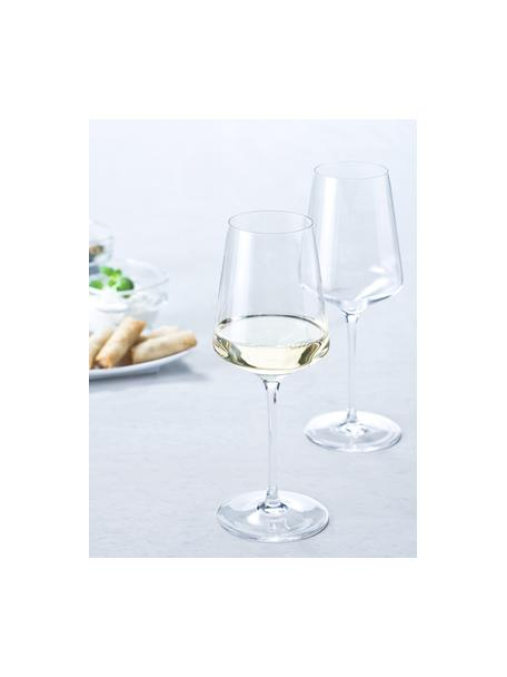 Copas de vino blanco Puccini, 6uds., Vidrio Teqton®, Transparente, Ø 8 x Al 23 cm
