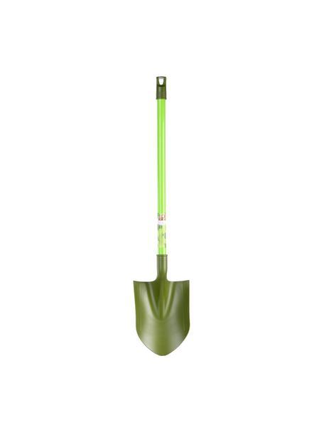 Łopata dla dzieci Little Gardener, Tworzywo sztuczne, Odcienie zielonego, S 15 x W 70 cm
