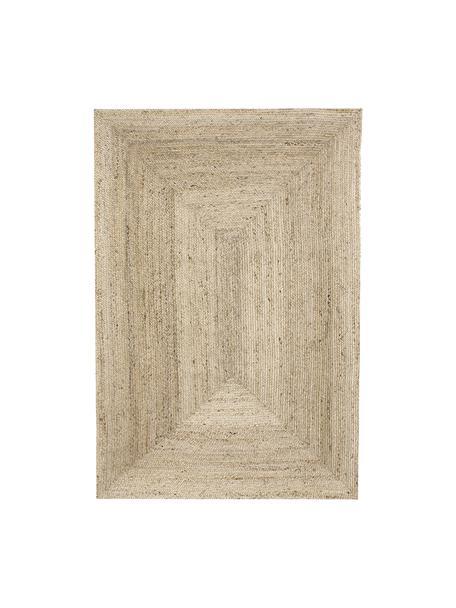 Handgefertigter Jute-Teppich Sharmila, 100% Jute, Beige, B 200 x L 300 cm (Größe L)