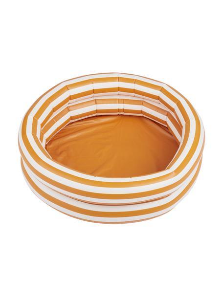 Planschbecken Leonore, Kunststoff (PCV), Orange, Weiss, Schwarz, Ø 80 x H 20 cm
