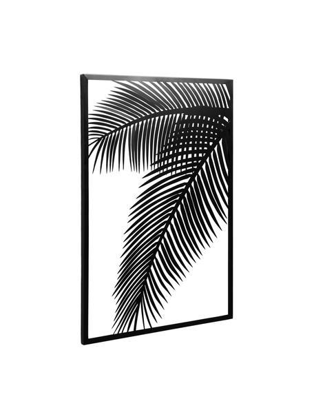Dekoracja ścienna z metalu Dimpia, Stal powlekana, Czarny, S 74 x W 100 cm