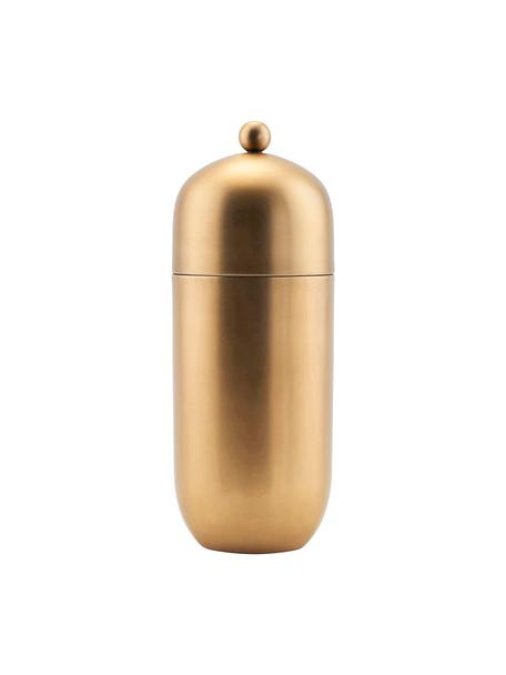 Cocktail shaker dorato Alir, Acciaio inossidabile, ottone, Ottonato, Ø 9 x Alt. 21 cm