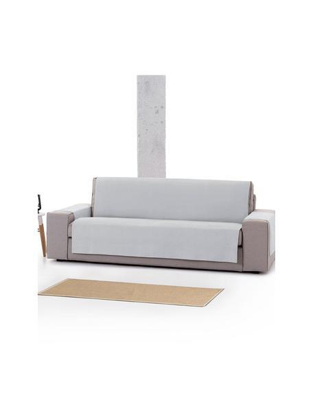 Narzuta na sofę Levante, 65% bawełna, 35% poliester, Szary, S 150 x D 220 cm