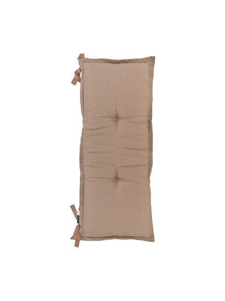 Poduszka na ławkę Panama, Tapicerka: 50% bawełna, 45% polieste, Taupe, S 48 x D 150 cm