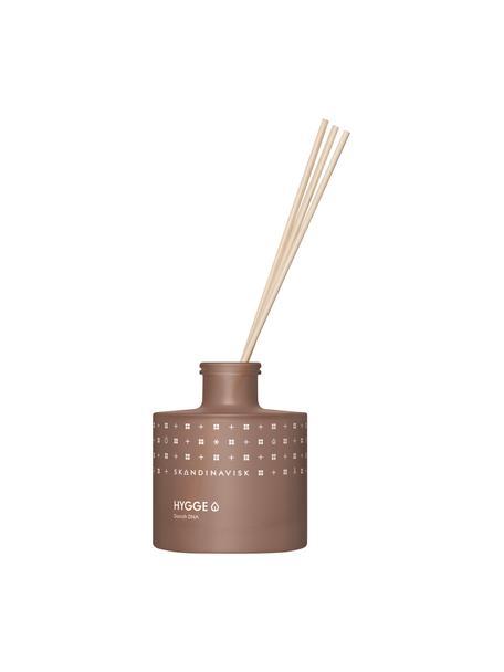 Ambientador Hygge (té negro, hojas de menta, manzanas), Recipiente: vidrio, Caja: cartón, Marrón, An 8 x Al 10 cm