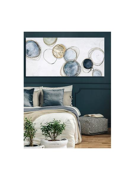 Cuadro sobre lienzo, pintado a mano Convenience, Multicolor, An 140 x Al 70 cm