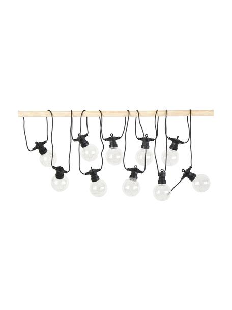 Ghirlanda a LED Crackle Chain, 750 cm, 10 lampioni, Trasparente, Lung. 750 cm