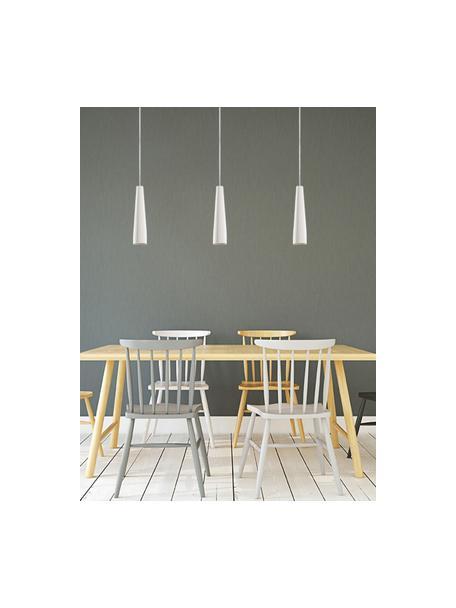 Lampa wisząca Alverna, Biały, Ø 8 x 32 cm