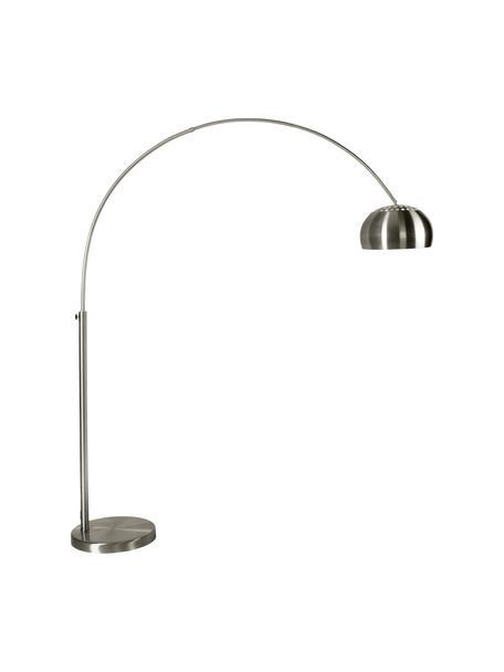 Lampada da terra ad arco regolabile Metal Bow, Base della lampada: marmo con rivestimento di, Metallo, Larg. 170 x Alt. 205 cm