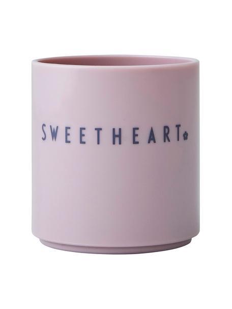 Kubek dla dzieci Mini Favourite, Tritan, wolne od BPA, BPS i EA, Blady różowy, Ø 7 x W 7 cm
