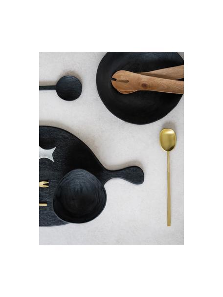 Goudkleurige opscheplepel Alyssa, Messing, Messingkleurig, L 30 cm