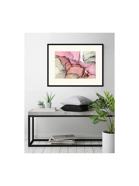Stampa digitale incorniciata Abstract Art I, Immagine: stampa digitale su carta,, Cornice: legno, verniciato, Multicolore, Larg. 83 x Alt. 63 cm