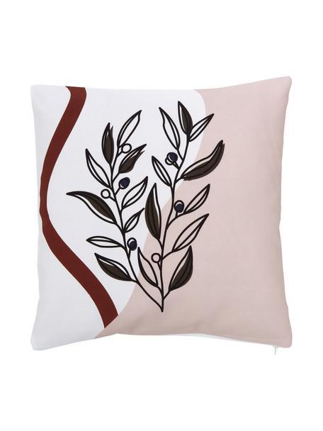 Poszewka na poduszkę Opoku, 100% bawełna, certyfikat GOTS, Wielobarwny, S 45 x D 45 cm