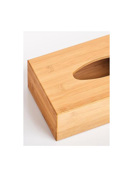 Scatola porta fazzoletti cosmetici Bamboo, Bambù, Bambù, Larg. 28 x Alt. 9 cm