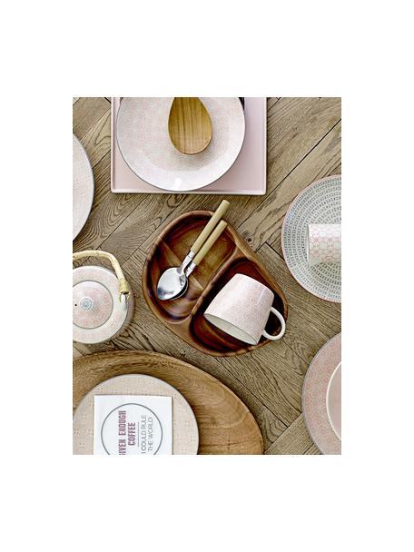 Tazas de café Cécile, 3uds., Gres, Multicolor, Ø 10 x Al 8 cm