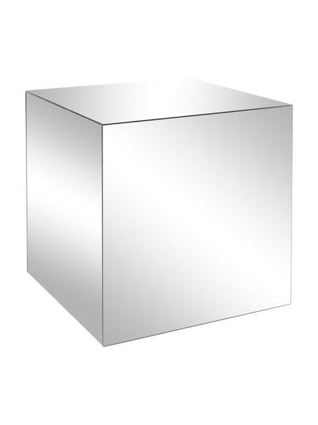 Verspiegelter Beistelltisch Luxury, Korpus: Mitteldichte Holzfaserpla, Oberfläche: Spiegelglas, Spiegelglas, B 45 x T 45 cm