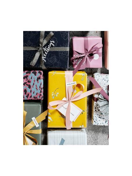 Set de cintas para regalo Polly, 3pzas., Plástico, Blanco, rojo, verde, L 1000 cm
