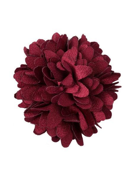 Decoratieve bloemen poolhoogte, 6 stuks, Polyester, Rood, Ø 6 cm