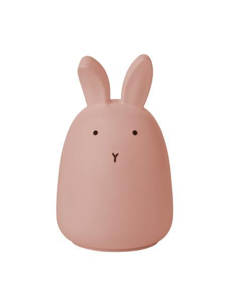 Oggetto luminoso a LED Winston Rabbit, 100% silicone, Rosa, Ø 11 x Alt. 14 cm
