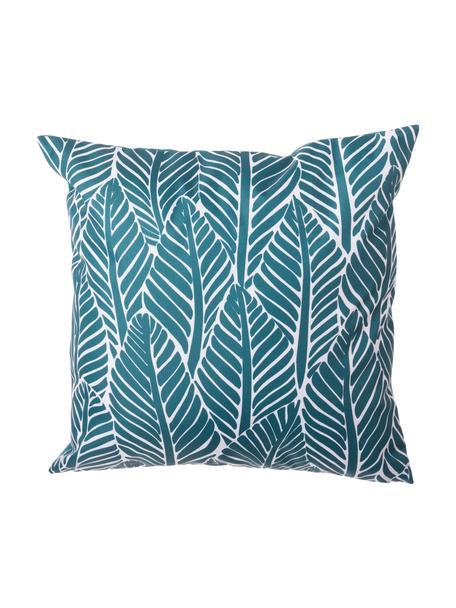 Zewnętrzna poduszka z wypełnieniem Sanka, 100% poliester, Niebieski, S 45 x D 45 cm