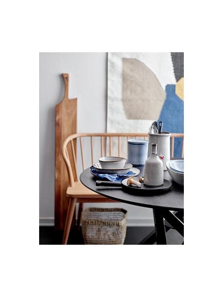 Ręcznie wykonany cooler Sandrine, Kamionka, Odcienie beżowego, Ø 15 x W 23 cm