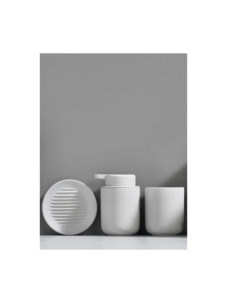 Porzellan-Seifenschale Ume, Porzellan, Weiss, Ø 12 x H 3 cm