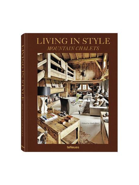 Libro ilustrado Living In Style - Mountain Chalets, Papel, tapa dura, Multicolor, L 32 x An 25 cm